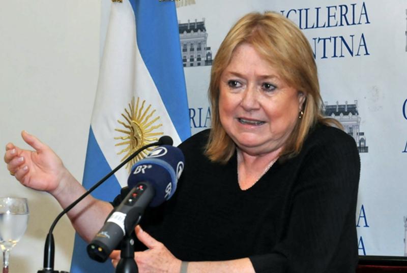 Susana Malcorra Canciller de Argentina