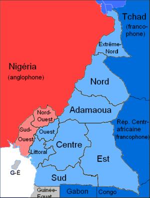 Zonas Anglófonas de Camerún