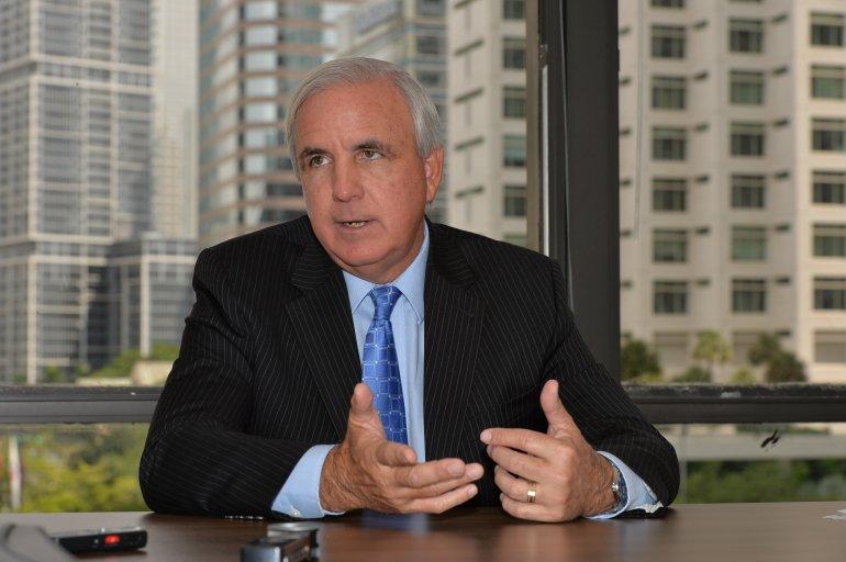 El alcalde de Mami-Dade, Carlos Giménez. Foto: EFE