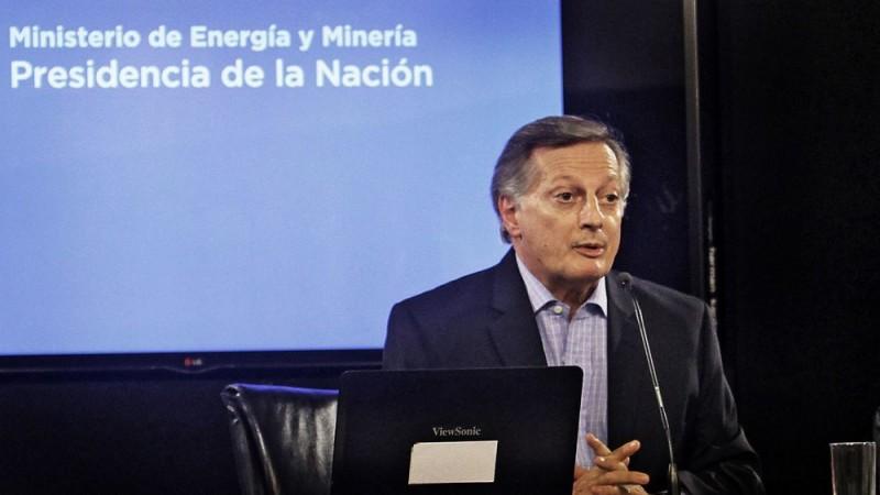Foto www.minem.gob.ar/ Ministro de Energía y Minería, Juan José Aranguren