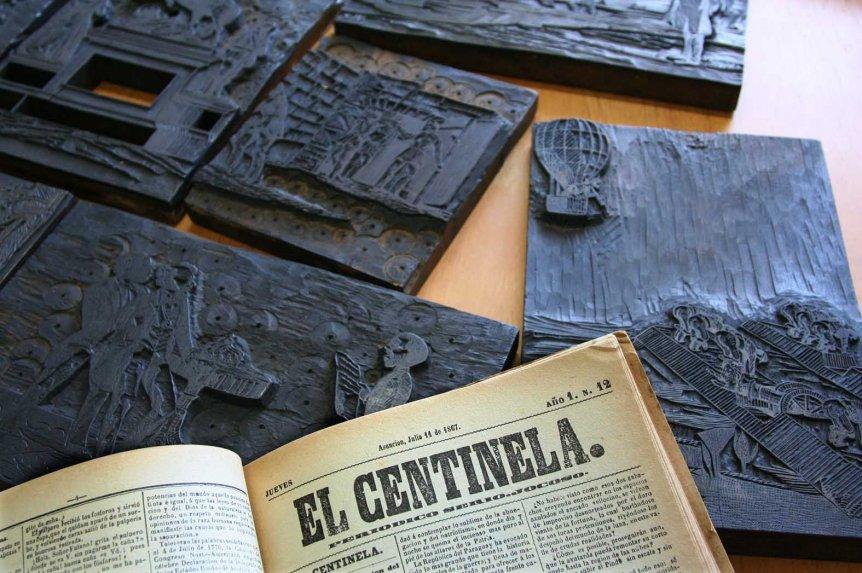 grabados-de-el-centinela-en-una-muestra-homenaje-al-periodismo-paraguayo-_862_573_1222074