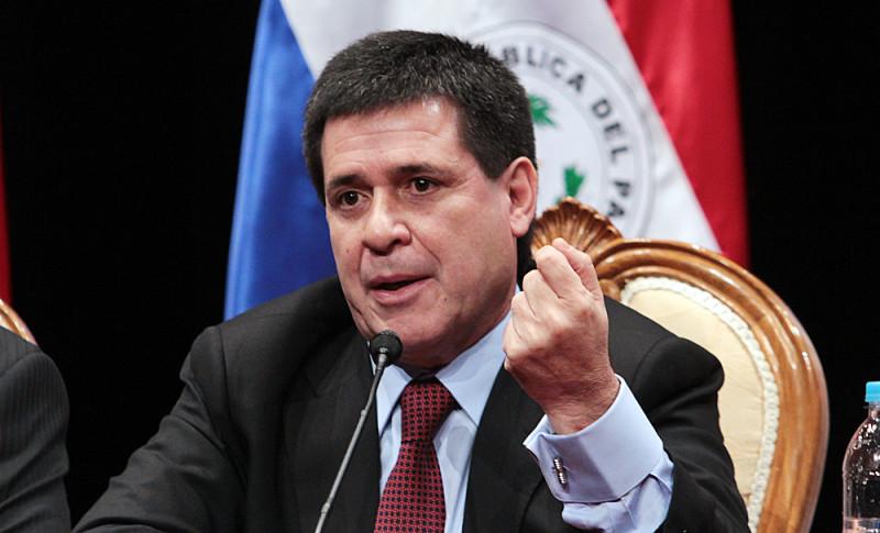 Presidente de Paraguay expresó preocupación por Venezuela en Mercosur
