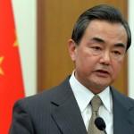 ministro chino de Exteriores, Wang Yi
