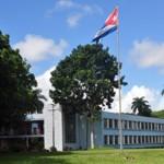 universidad-central-de-las-villas-con-bandera