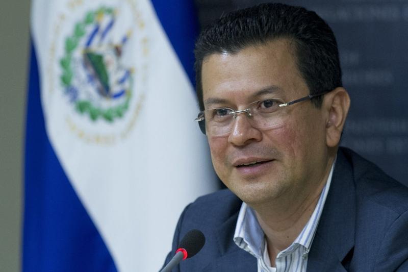 Canciller Hugo Martínez