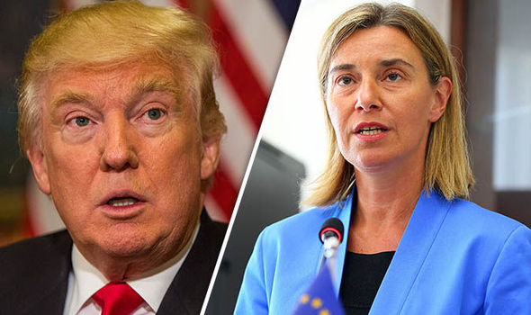 EU-foreign-policy-chief-Federica-Mogherini-and-Trump-732456