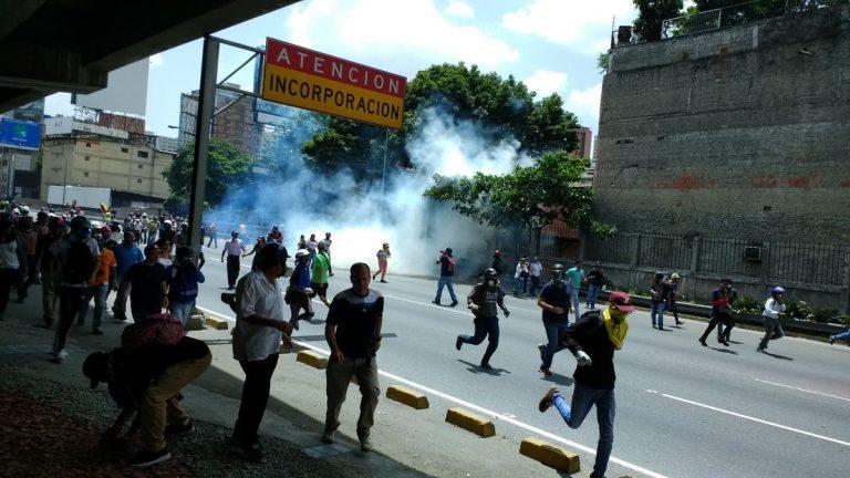 Represión Venezuela 26 may