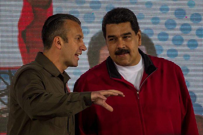 Tareck y Maduro