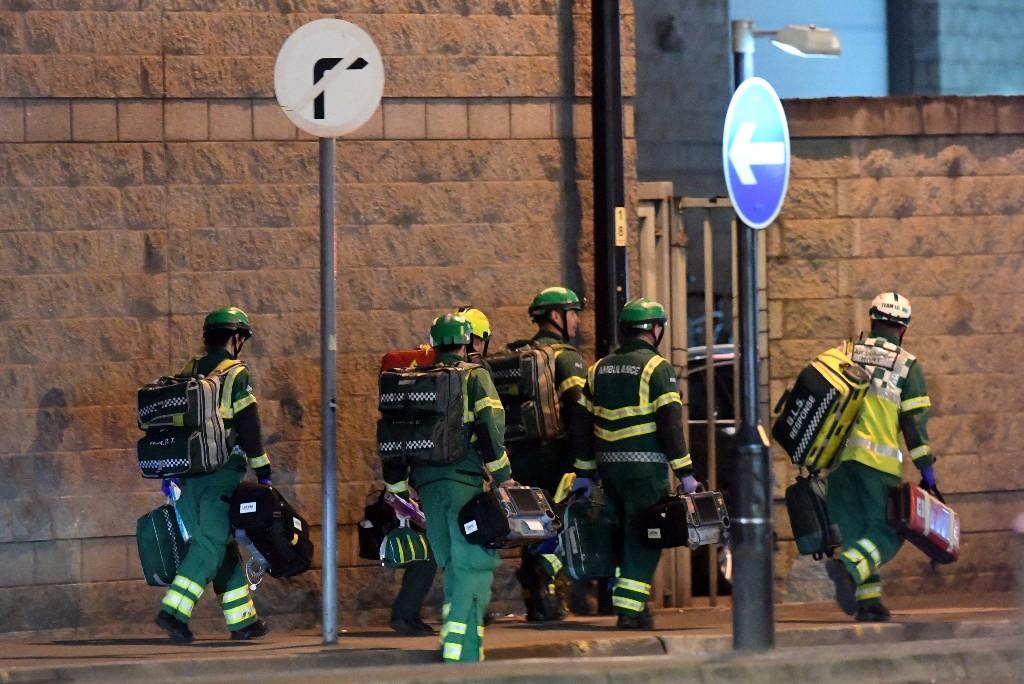 Detenidas tres personas por atentado en Manchester
