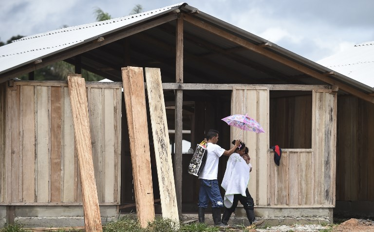 COLOMBIA-FARC-PEACE-DEMOBILIZATION-CEASEFIRE-SETTLEMENT