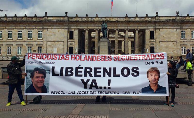 ELN admitió secuestro de periodistas holandeses