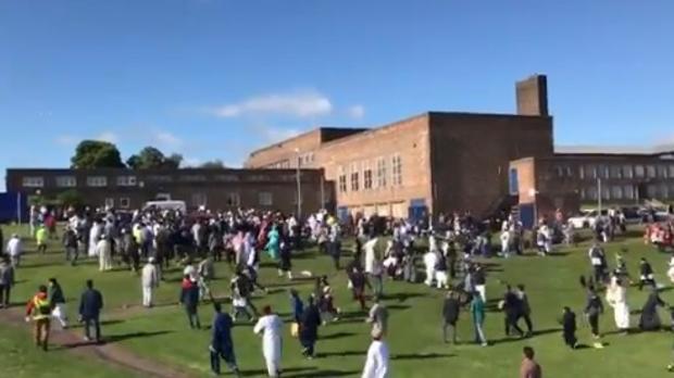 Seis personas fueron atropelladas durante festividad musulmana en Londres