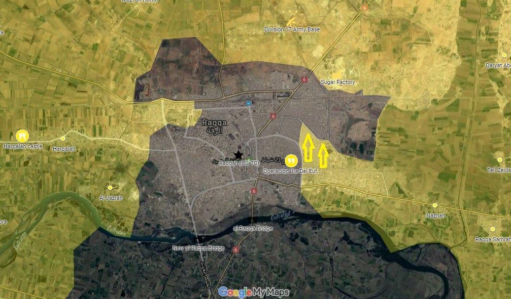 zona de combate en Siria