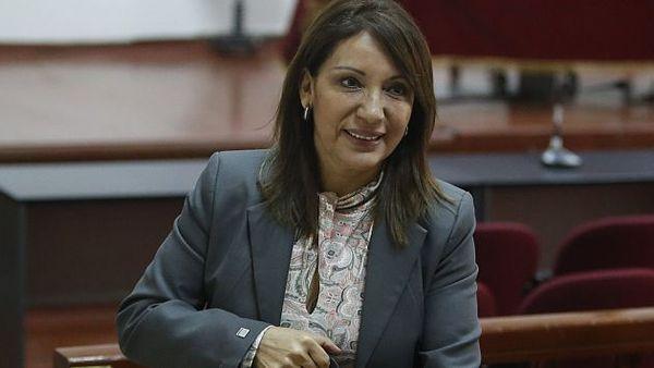 magistrada Julia Príncipe, expresidenta del Consejo de Defensa Jurídica del Estado (CDJE)