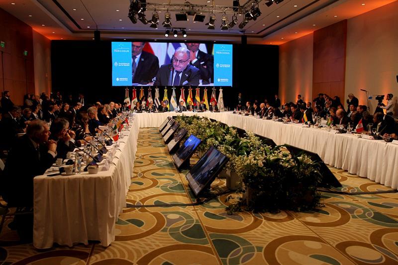 Mercosur envió nota al Gobierno de Venezuela para abrir diálogo