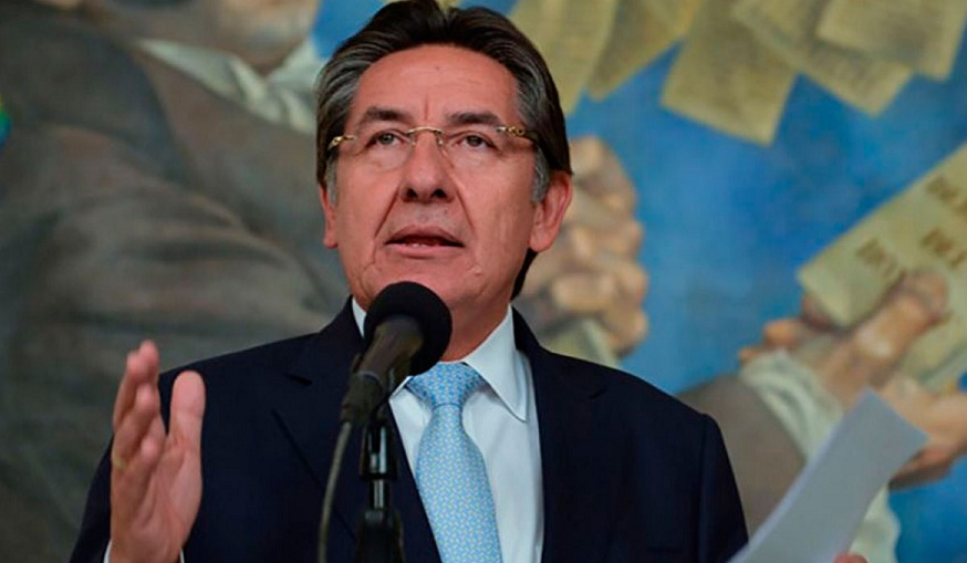 Foto archivo/ Fiscal General de Colombia, Néstor Humberto Martínez