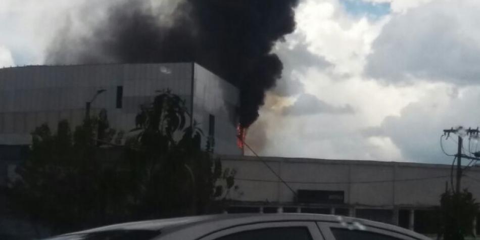 Colombia Incendio