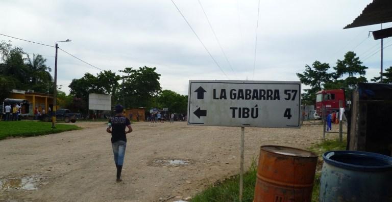 Colombia La Gabarra