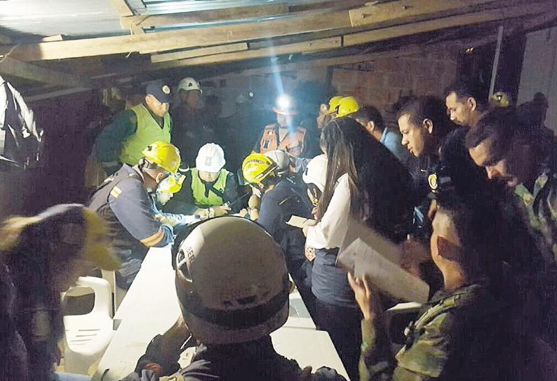 Colombia explosión en mina