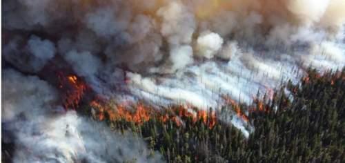 Incendios Canadá