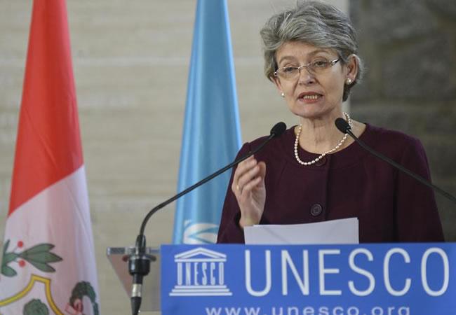 Irina Bokova, directora de Unesco
