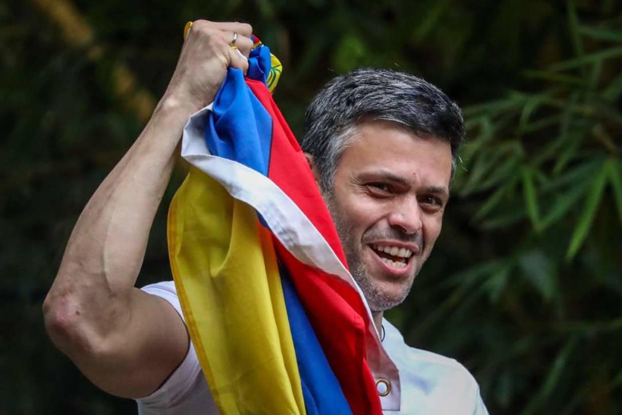 Líder de la oposición venezolana, Leopoldo López