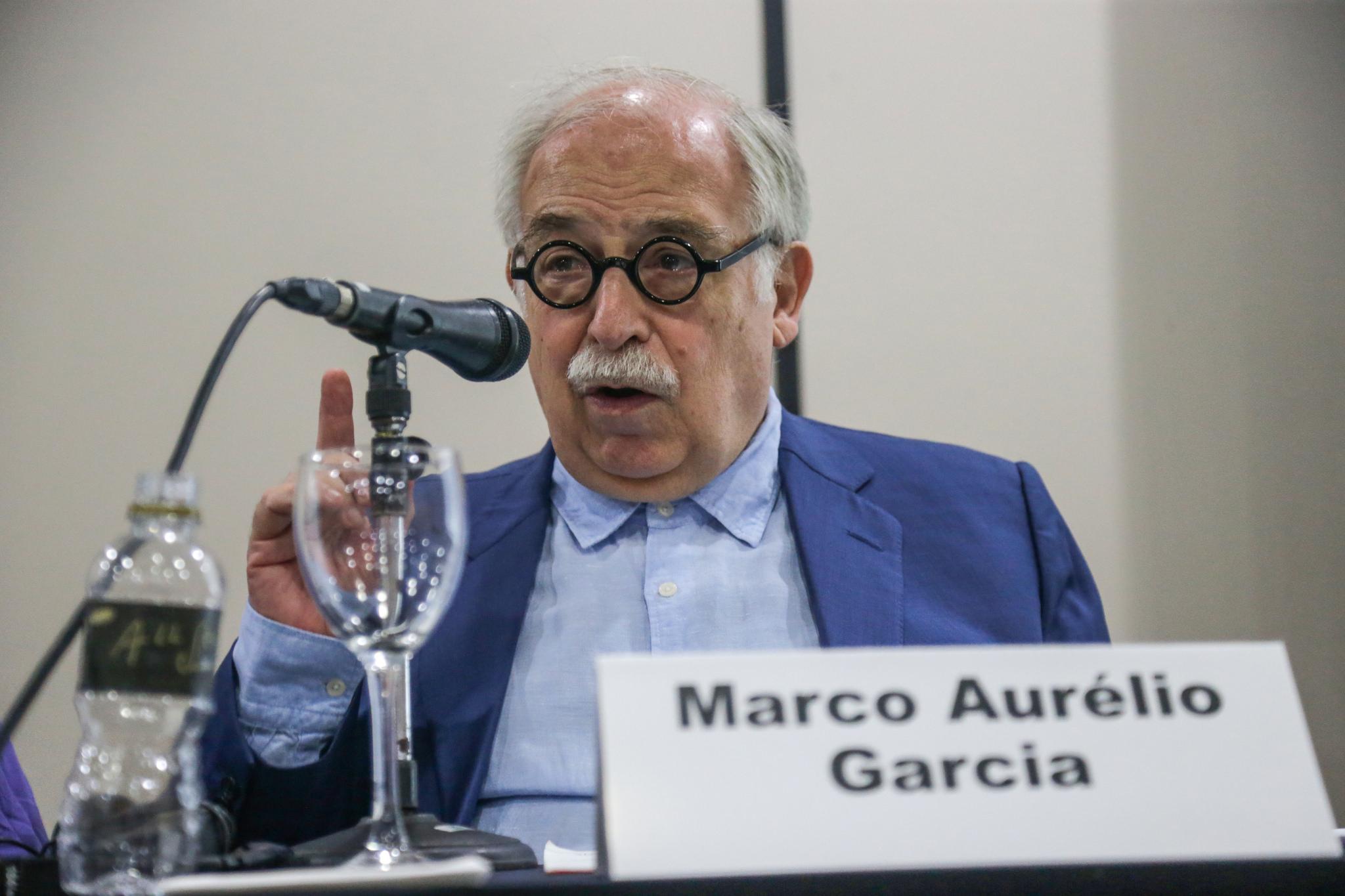 Muere Marco Aurelio García, ex asesor presidencial de Brasil. Archivo EFE