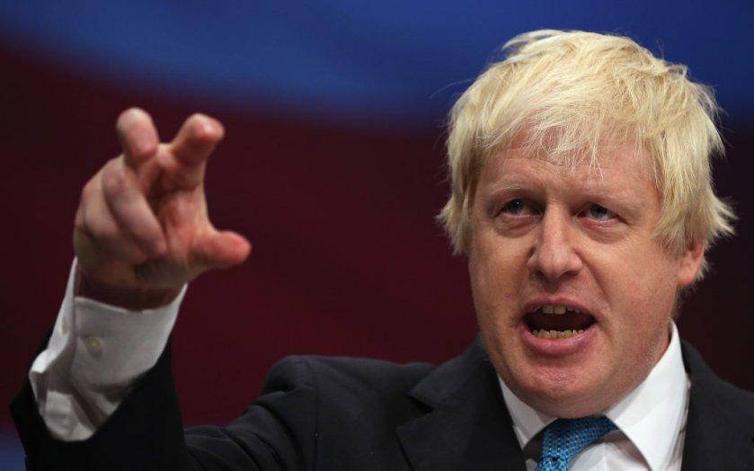 Reino Unidos Boris Johnson