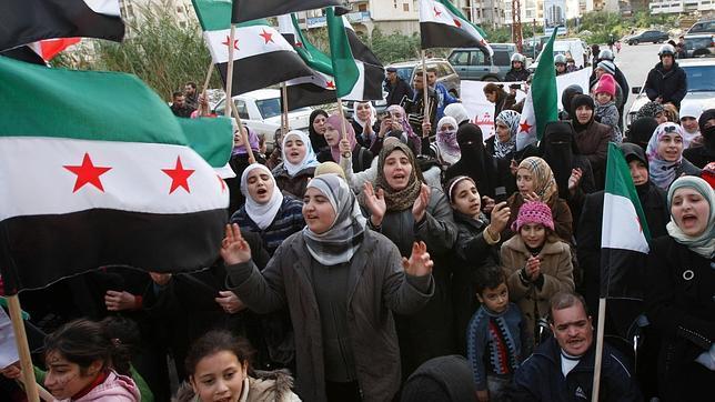 Opositores sirios/ Foto Archivo