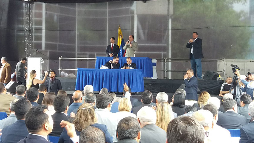 Parlamento venezolano aprobó nuevos magistrados del Tribunal