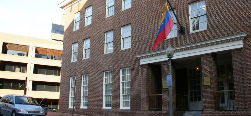 Venezuela España embajada