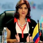 Cancillerde Colombia: María Ángela Holguín