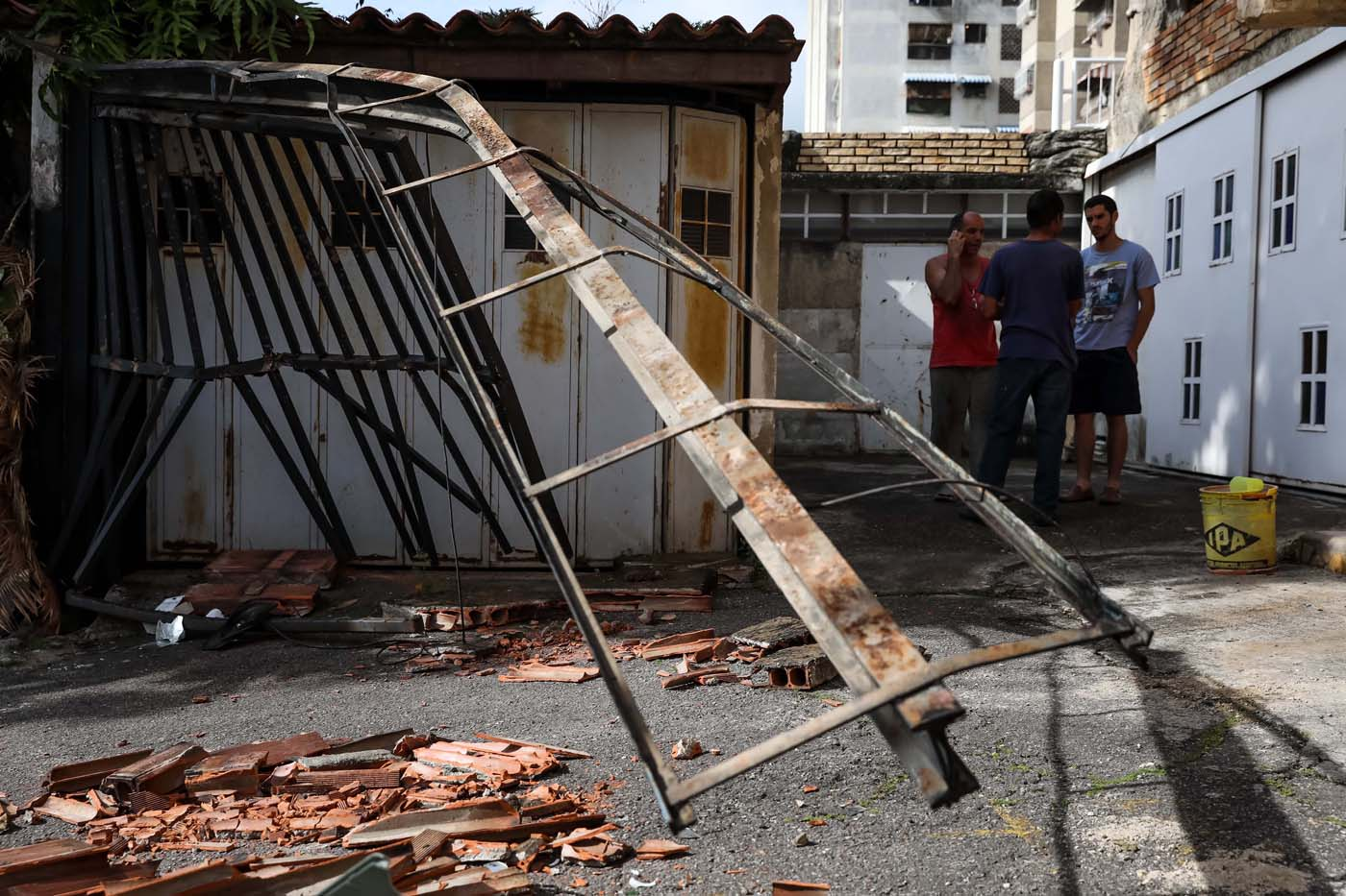destrozos venezuela 1