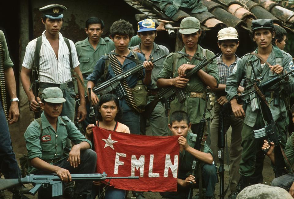 guerrilla del Frente Farabundo Martí para la Liberación Nacional