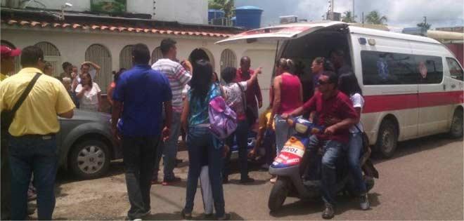 heridos venezuela