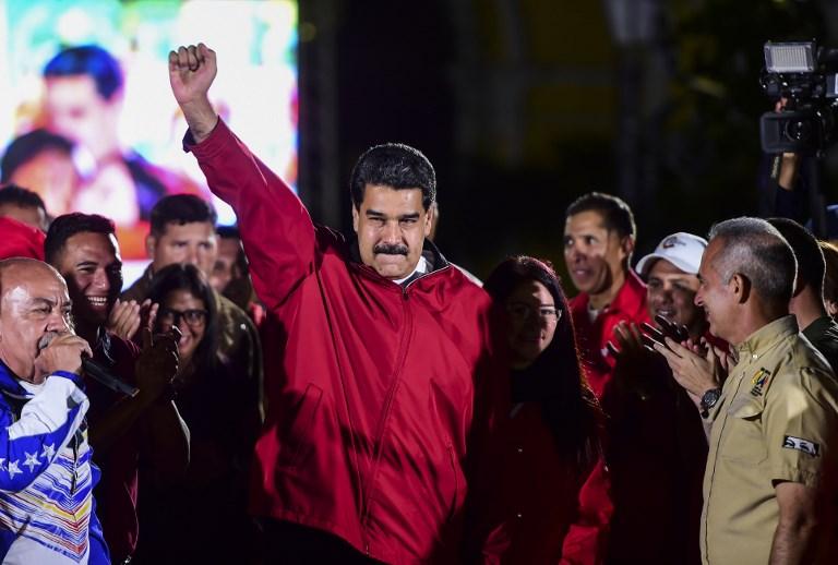 VENEZUELA-POLITICS-CRISIS-ELECTIONS-MADURO