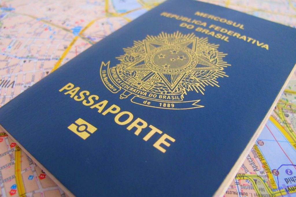 pasaporte brasil