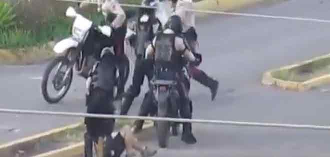 policias venezuela