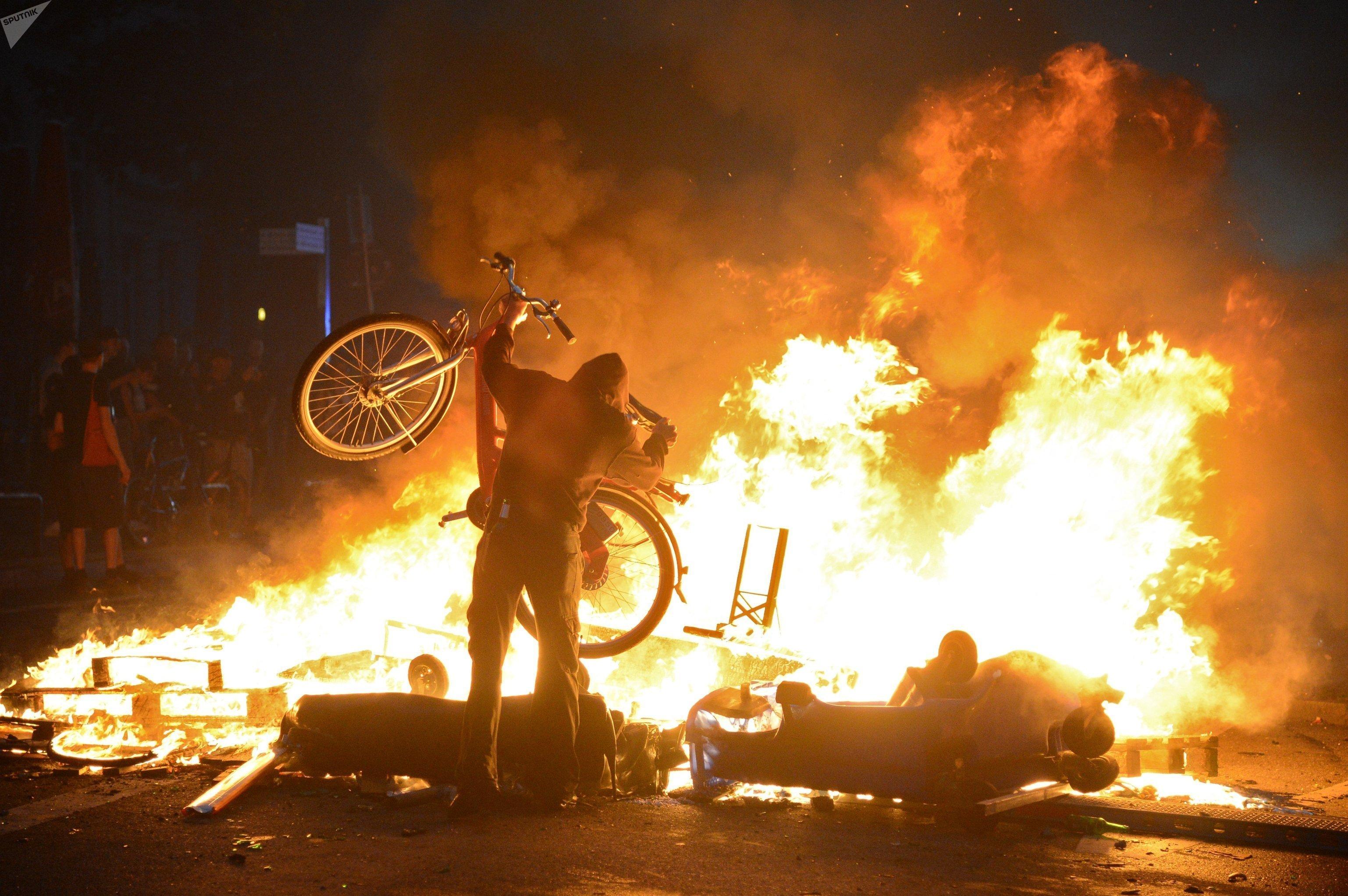 protestas hamburgo