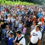 venezolanos cruzan frontera colombia