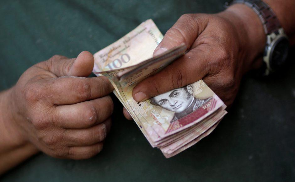 Billetes bolívares Venezuela