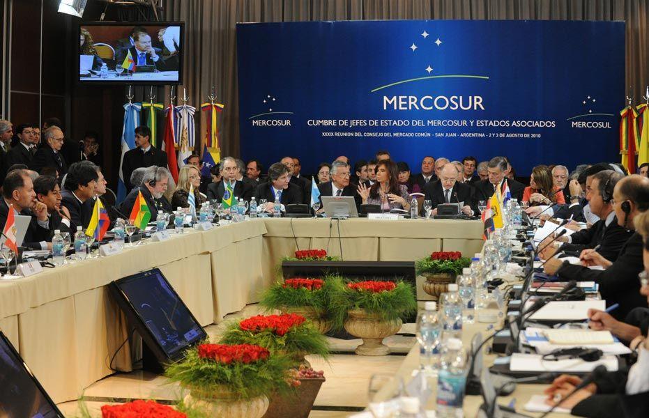 Mercosur insta al régimen a coordinar canales de ayuda humanitaria