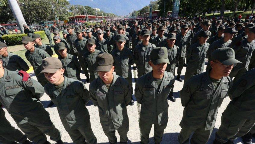 Venezuela Militares Valencia