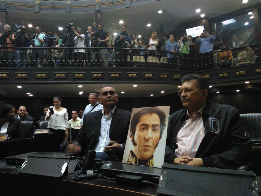 Venezuela diputados chavistas