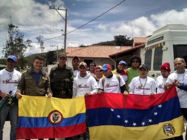 caminantes venezolanos colombianos