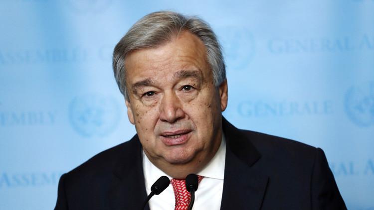 Secretario general de la ONU: Venezuela necesita una solución política