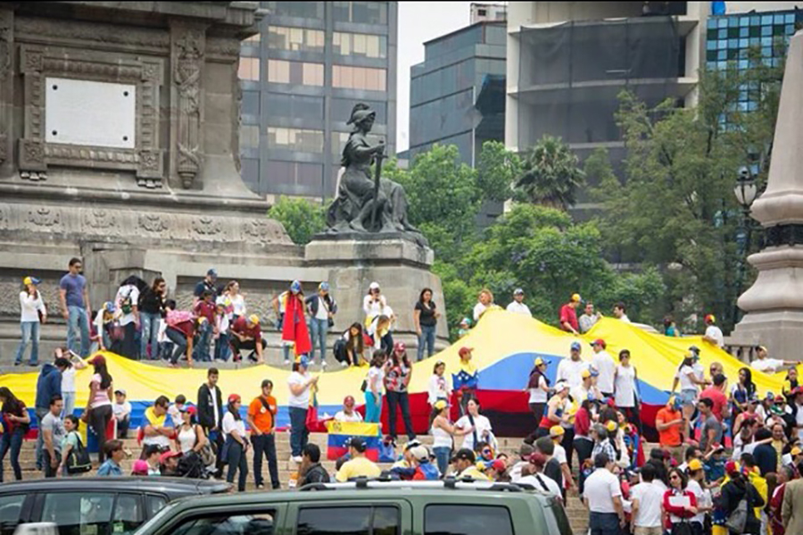 mexico venezolanos