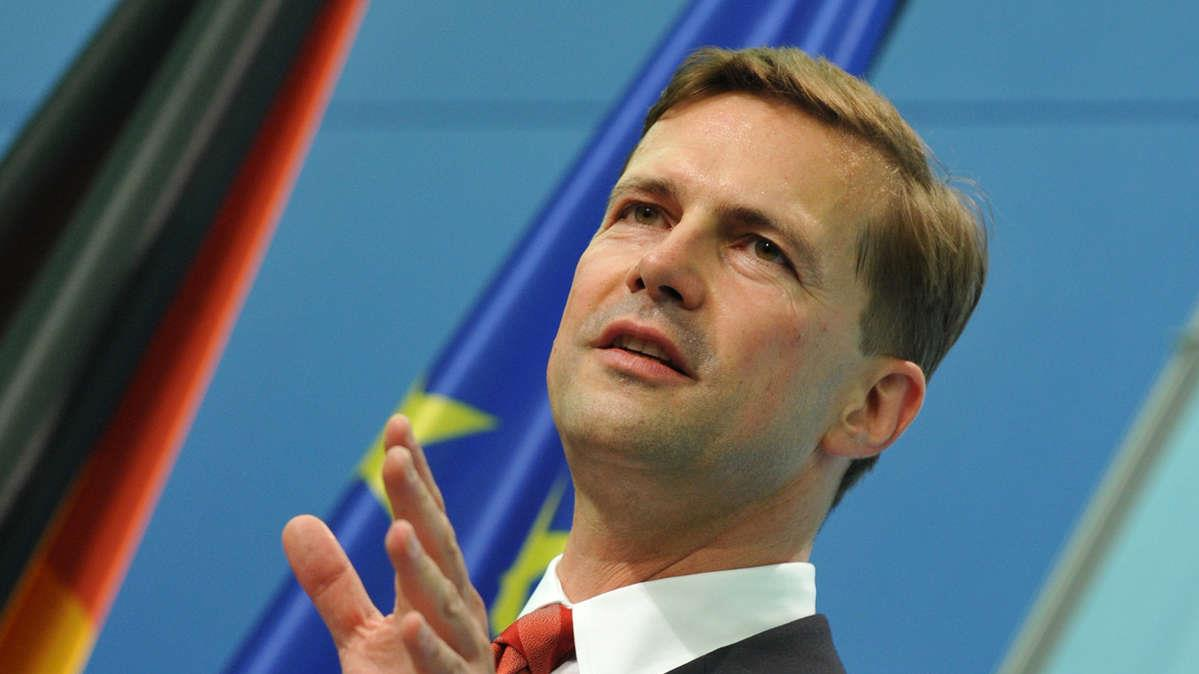 El portavoz del Gobierno alemán, Steffen Seibert. Foto: HispanTV