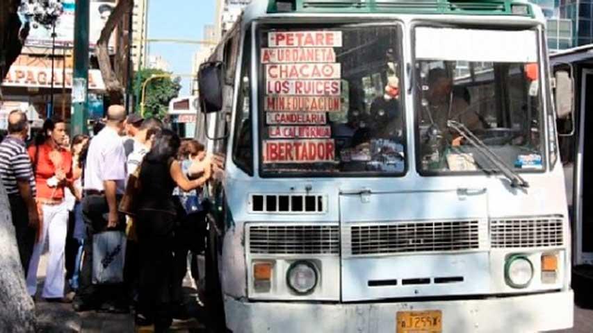 transporte Caracas