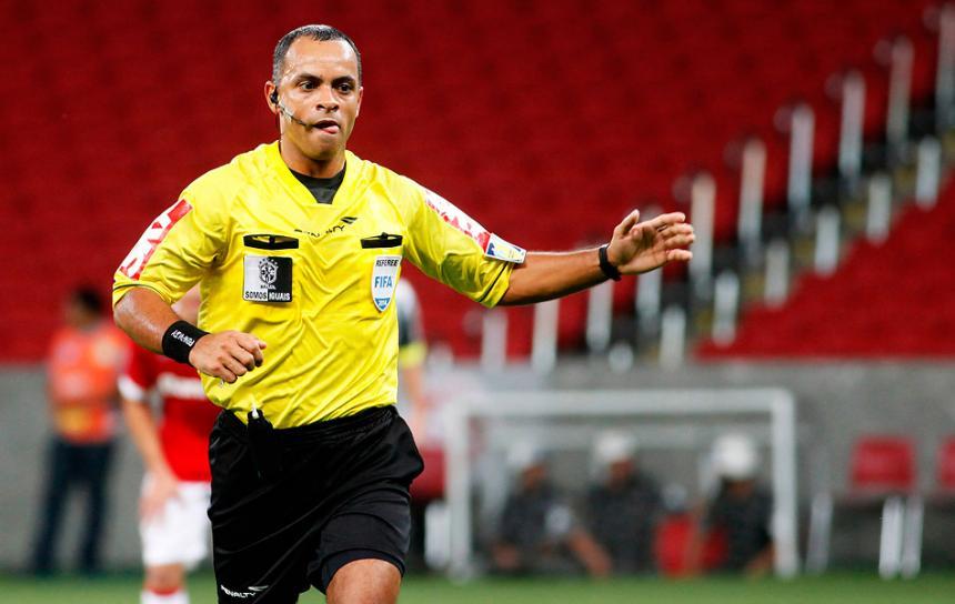 Wilton Pereira, árbitro de Venezuela-Colombia. Foto: Meridiano.com